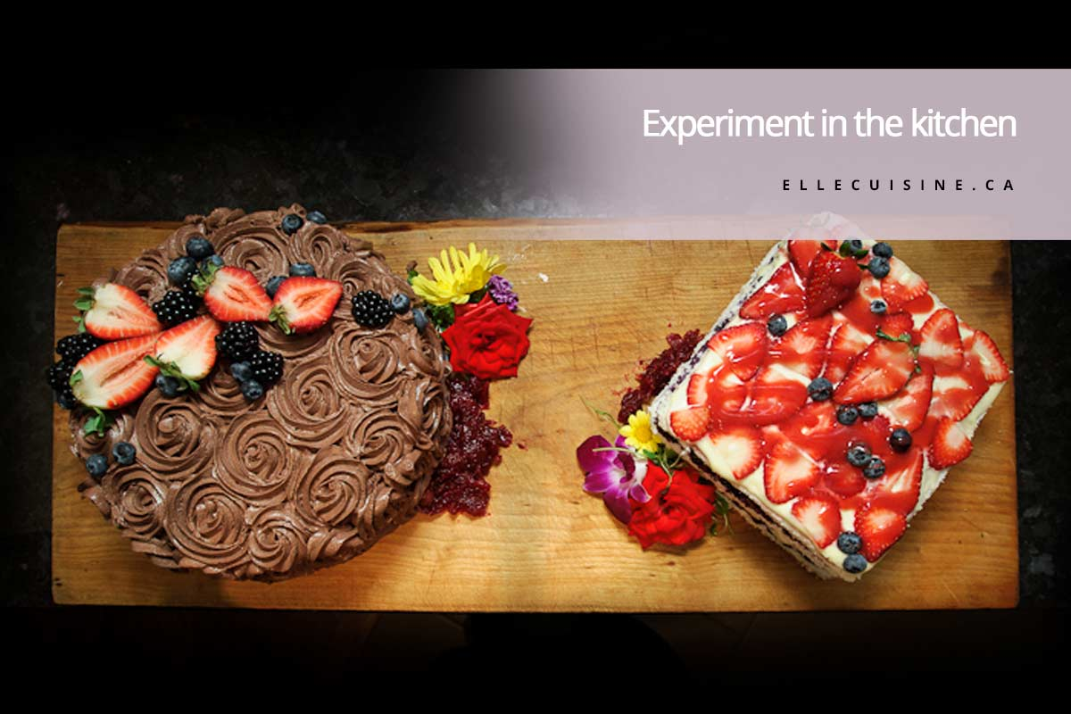 Experiment in the kitchen